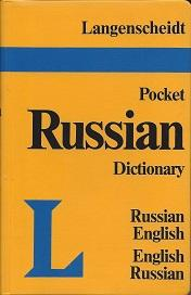 Langenscheidt's Pocket Russian Dictionary: Russian-English, English-Russian: part I by