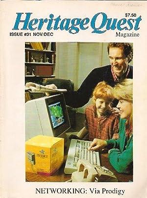 Heritage Quest Magazine #31 November/December 1990: Meitzler (Editor), Leland