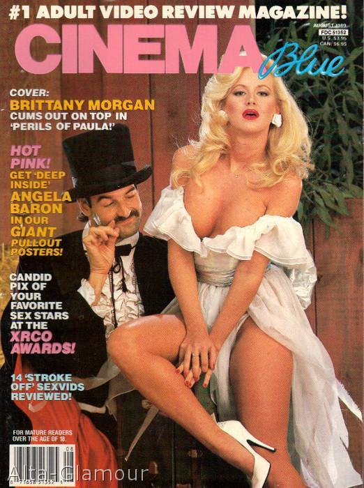 Hustler Magazine March 1988 Featuring German Sex Star Angela Baron Nude