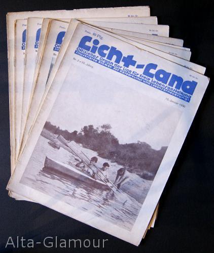 LICHT-LAND [set of eight issues]; Offizielles Organ der Liga fur freie Lebensgestaltung Jahrgand ...