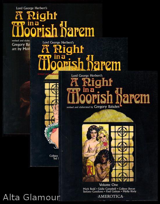 a night in a moorish harem herbert lord george