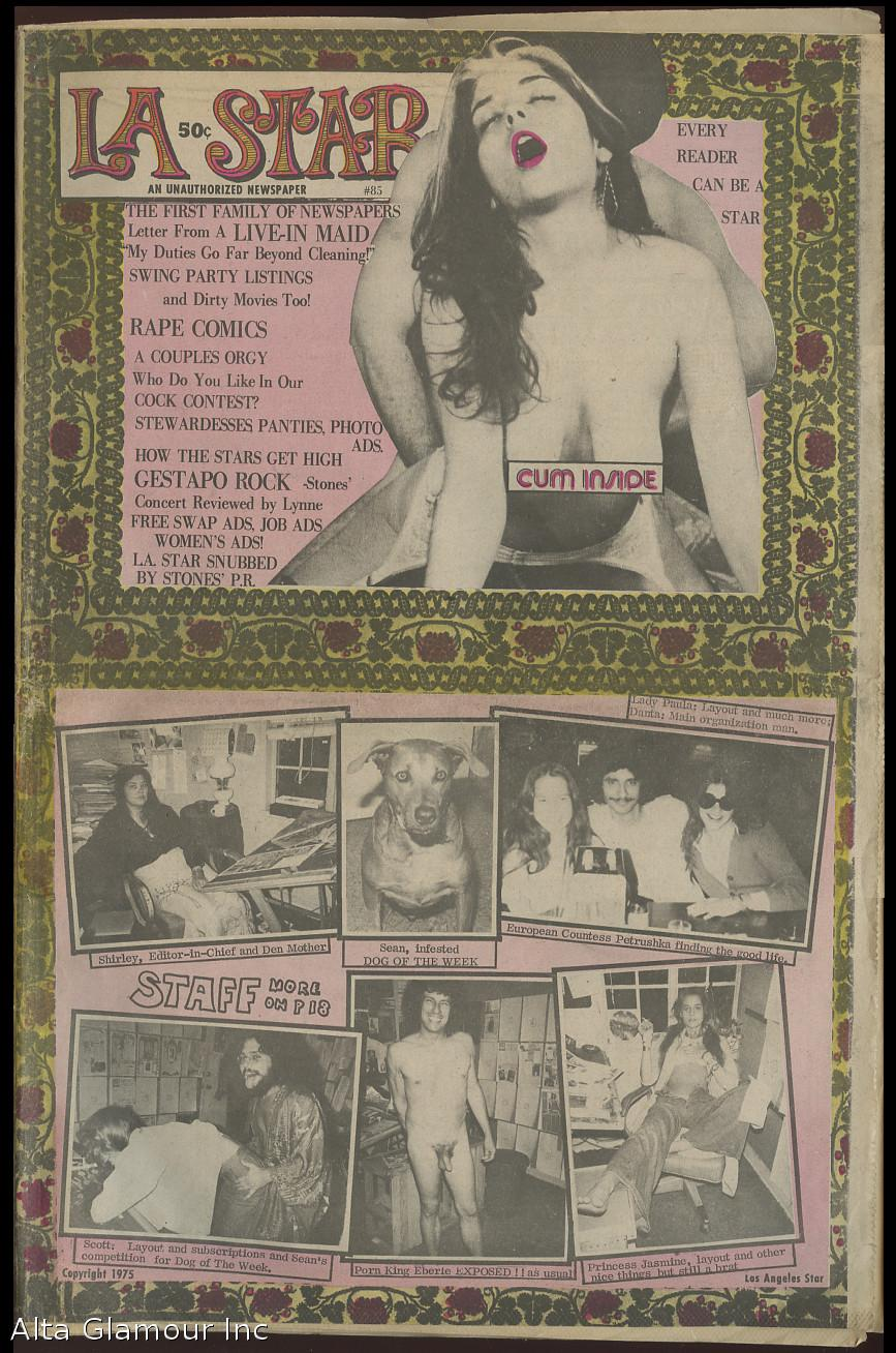 L.A. STAR; A Reader Written Rag Vol. 04, No. 85, 1975 by Eberle ...