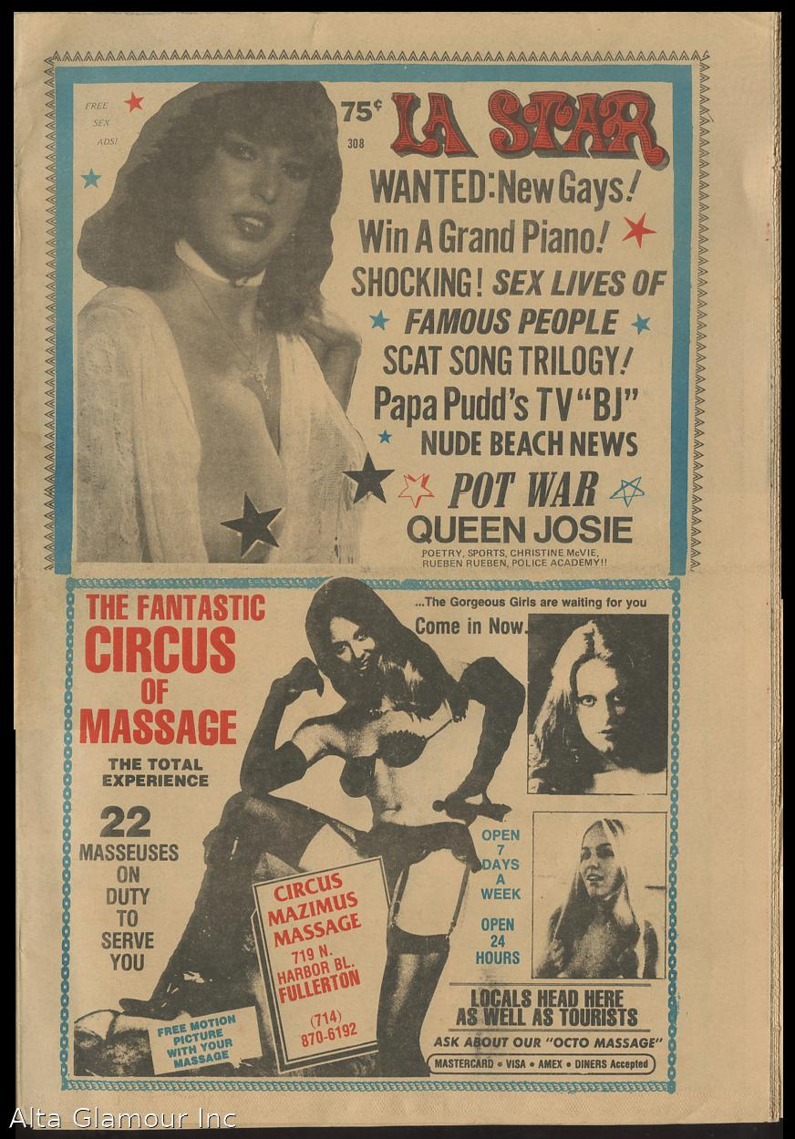 L.A. STAR; An Unauthorized Newspaper No. 308, April 18, 1984 by ...