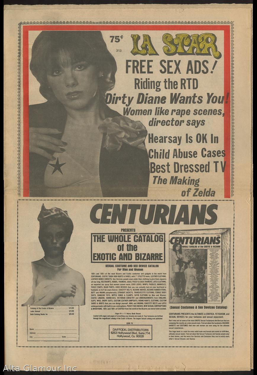 L.A. STAR; An Unauthorized Newspaper No. 313, June 27, 1984 by ...