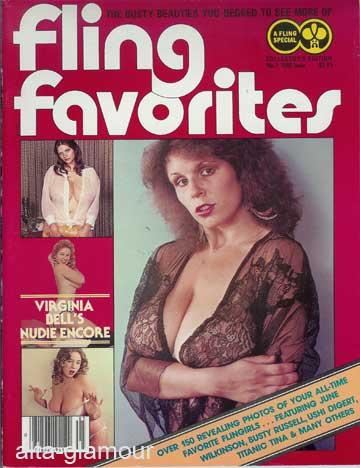 FLING FAVORITES. The Busty Beauties You Begged to See More Of Fling Special No. 1: Miller, Arv (...
