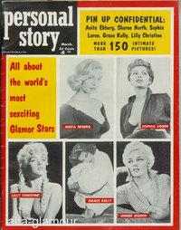 PERSONAL STORY. All About the World's Most Sexciting Glamor Stars Vol. 1, No. 2, March 1956