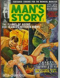 MAN'S STORY; Action-Packed Thrillers Vol. 4, No. 2, February 1963