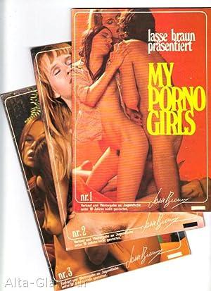 MY PORNO GIRLS [Nos. 1-3]; [Lasse Braun prasentiert My Porno Girls] Nrs. 1-3