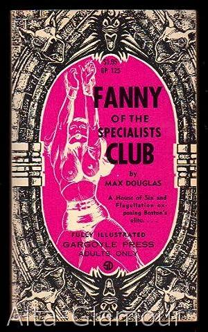FANNY OF THE SPECIALISTS CLUB Gargoyle Press: Douglas, Max