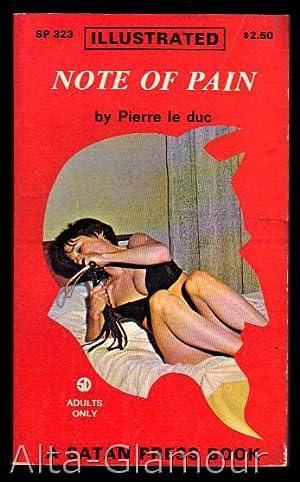 NOTE OF PAIN Satan Press: Duc, Pierre le