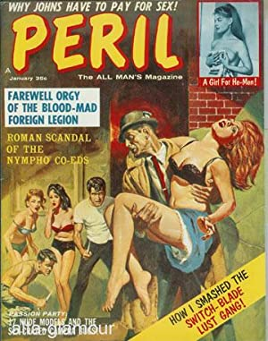 PERIL; The ALL MAN's Magazine Vol. 6, No. 5, January 1963