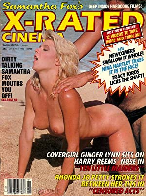 X-RATED CINEMA; Samantha Fox's X-Rated Cinema. A Swank Special Vol. 09, No. 01, March