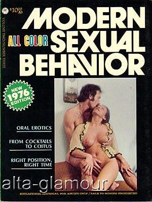 MODERN SEXUAL BEHAVIOR Vol. 02, No. 03; May June July