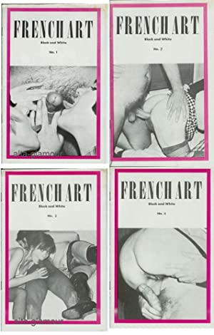FRENCH ART; Black and White Nos. 1-4