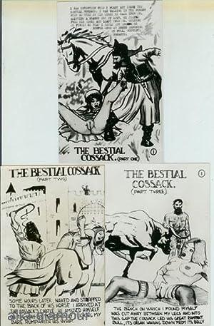 THE BESTIAL COSSACK - PHOTOGRAPHIC BONDAGE ART SET Part 1, Part 2, and Part 3