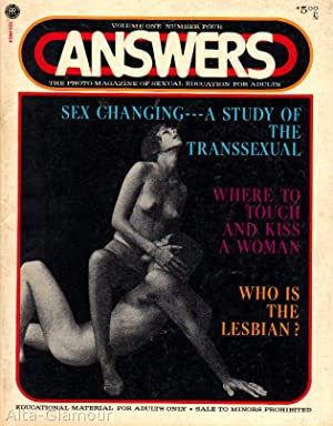 ANSWERS; The Photo-Magazine of Sexual Education for Adults Vol. 01, No. 04, Apr./May 1971