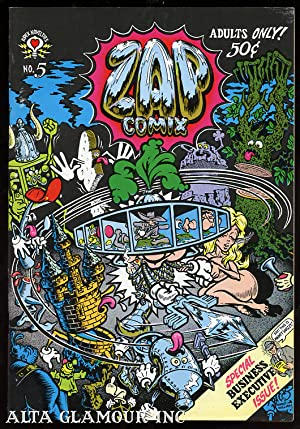 ZAP COMIX; Special Business Executive Issue No. 05, May: Crumb, R.
