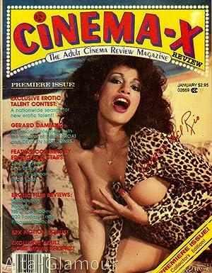 CINEMA-X REVIEW; The Adult Cinema Review Magazine Vol. 01, No. 01, January