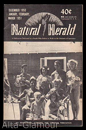 NATURAL HERALD; (formerly Naturel Community Herald and Naturel Herald) Vol. 5 & 6, Nos. 12, 1, ...