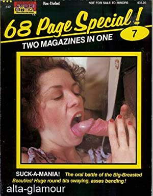 SUCK-A-MANIA! Pressing Engagement | Play That Fantasy Again; 68 Page Special! Two Magazines in One!