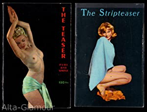 THE STRIPTEASER [and] THE TEASER PURE AND SIMPLE: Olympia Press]