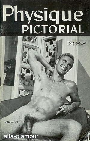 PHYSIQUE PICTORIAL Vol. 21, July 1972: Mizer, Bob (editor)