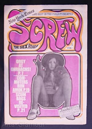 SCREW; The Sex Review Number 0055, March 22, 1970: Goldstein, Al (Editor)