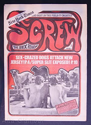 SCREW; The Sex Review Number 0056, March 26, 1970: Goldstein, Al (Editor)