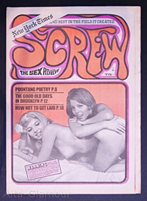 SCREW; The Sex Review Number 0063, May 18, 1970: Goldstein, Al (Editor)