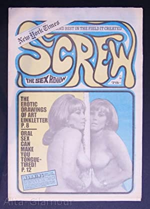 SCREW; The Sex Review Number 0064, May 25, 1970: Goldstein, Al (Editor)