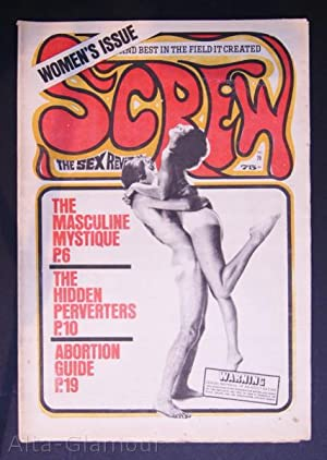 SCREW; The Sex Review Number 0079, September 7, 1970: Goldstein, Al (Editor)
