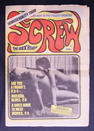 SCREW; The Sex Review Number 0083, October 5, 1970: Goldstein, Al (Editor)