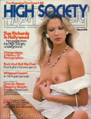 HIGH SOCIETY; The Magazine That Does It All! Vol. 01, No. 11, March 1977