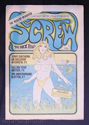 SCREW; The Sex Review Number 0086, October 26, 1970: Goldstein, Al (Editor)