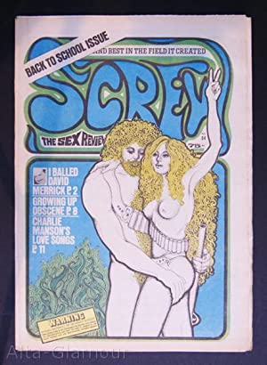 SCREW; The Sex Review Number 0084, October 12, 1970: Goldstein, Al (Editor)