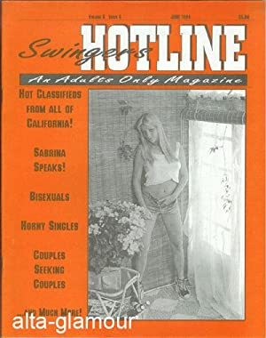 SWINGERS HOTLINE; An Adults Only Magazine Vol. 08, No. 06, June 1994