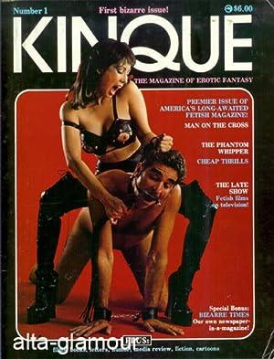 KINQUE; The Magazine of Erotic Fantasy Vol. 01, No. 01