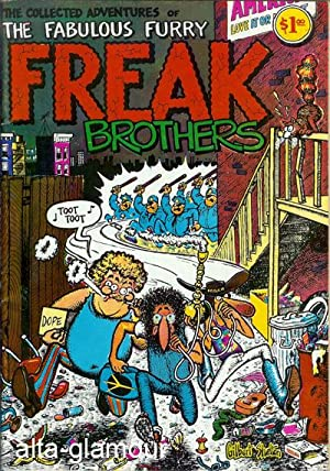 THE COLLECTED ADVENTURES OF THE FABULOUS FURRY FREAK BROTHERS: Shelton, Gilbert