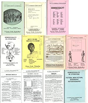 ELYSIAN FIELDS, BOOKSELLERS - CATALOGUES; Homosexuality in Literature; Gay Literature; Gay ...