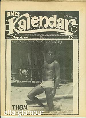 TIMES KALENDAR; San Francisco's Independent Gay Paper Vol. 1, Issue K15, August 18, 1972