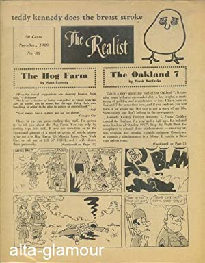 THE REALIST; Freethought Criticism and Satire No. 86, November-December 1969: Krassner, Paul (Ed.)