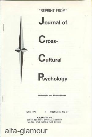 CREATIVITY: A CROSS-HISTORICAL PILOT SURVEY; Reprint from: Naroll, Raoul, E.C.