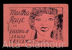 "MARTHA RAYE IN ""FILLING A LARGE CAVITY""; By Pluggis Bottmome: Tijuana Bible)"
