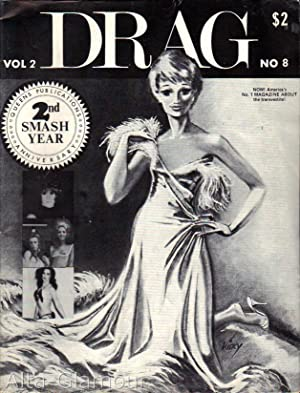DRAG; NOW! America's No. 1 Magazine About the Transvestite! Vol. 02, No. 08
