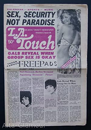 L.A. TOUCH; An Adult Variety Newspaper Vol.