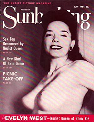 MODERN SUNBATHING AND HYGIENE; The Nudist Picture Magazine Vol. 24, No. 07, July (#86)
