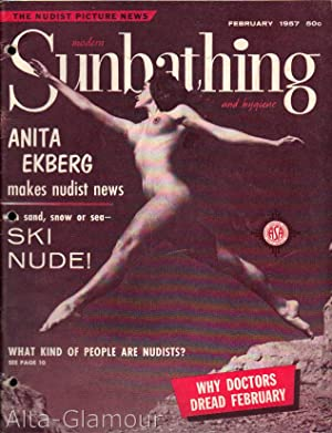 MODERN SUNBATHING AND HYGIENE; The Nudist Picture News Vol. 27, No. 02, (#117), February