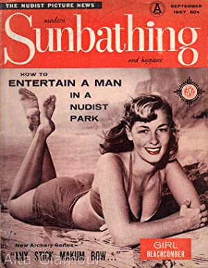 MODERN SUNBATHING AND HYGIENE; The Nudist Picture News Vol. 27, No. 09 (#124), September