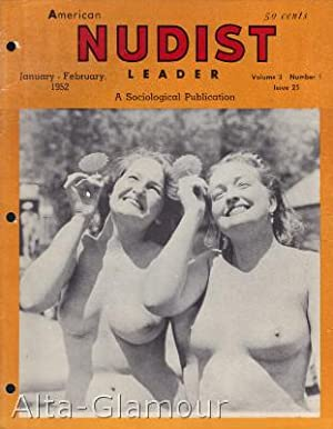 AMERICAN NUDIST LEADER Vol. 03, No. 01   Issue # 25, January-February