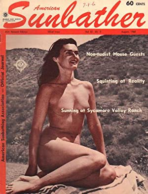 AMERICAN SUNBATHER Vol. 12, No. 08 | 103rd Issue, August